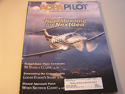 AOPA October 2008 Vol 51 #10 Pilatus PC-12NG New Meaning for NextGen (Aviator Meaning)