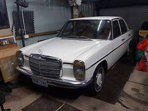 1974 Mercedes-Benz 280 Sedan Braddon North Canberra Preview