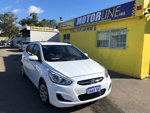 2016 Hyundai Accent ACTIVE 1.4L AUTOMATIC HATCHBACK $13,999 Kenwick Gosnells Area Preview