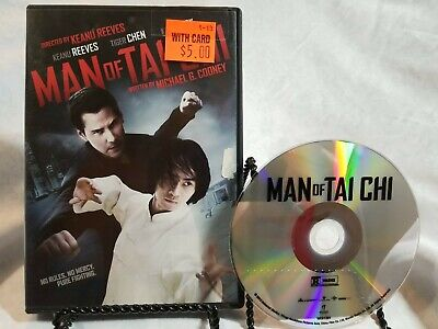 Man of Tai Chi (DVD, Widescreen) Keanu Reeves, Tiger Chen