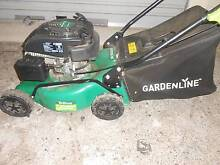 99cc 4 stroke garden line mower blocked main jet,  has spark Forster Great Lakes Area Preview