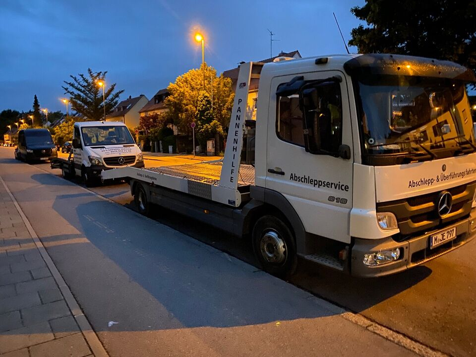 Abschleppdienst Überführungen 24h  KFZ Transport bis 3 Tonnen in Hadern - Blumenau