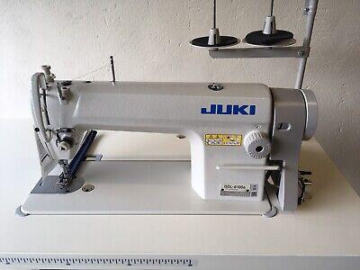 JUKI DDL 8100H Heavy Duty Industrial Straight Stitch Sewing Machine With Servo