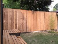Fence removal and installation