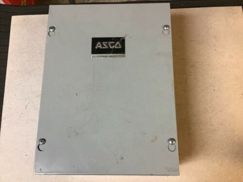 Asco 91762071XC Lighting Contactor With 277 Volt Coil In Enclosure-New