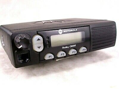Motorola Cm300 Vhf 32ch 40w Mobile Radio Wnew Accessories