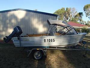Stacer aluminium boat and trailer Busselton Busselton Area Preview