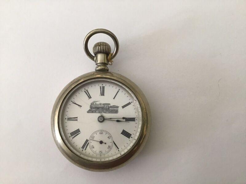 Vintage American Railroad Pocket Watch