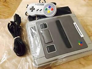 Super Nintendo Console,Leads & 1 controller plus 40 Days Warranty Perth Perth City Area Preview
