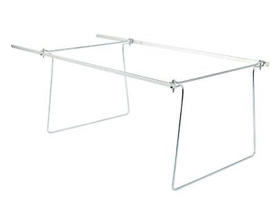 Staples Adjustable Hanging Folder Frames Letter Size Silver 2/Pack (45434) Hanging Framed Letter