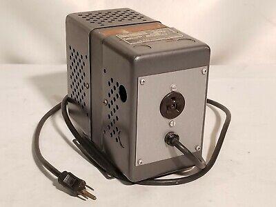 Sola Constant Voltage Transformer 20-13-115-a462 118vac 1.27a