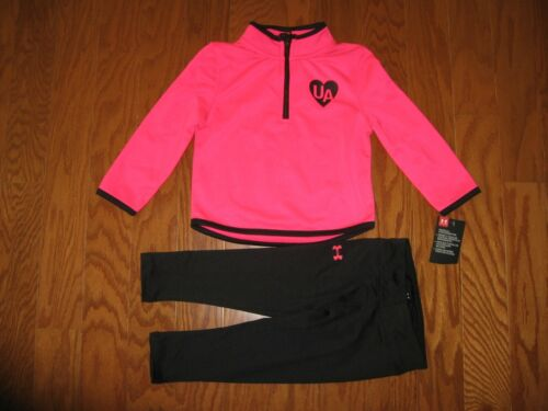 Under Armour 2-Pc.Hoodie Jacket & Pants Outfit Set Girls  24M  NWT