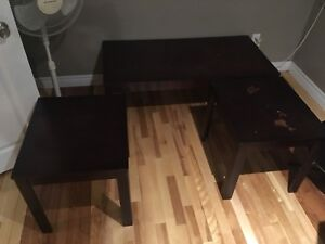 Free coffee and end tables