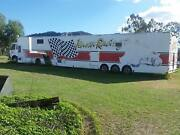 Motorhome/horse or vehicle float Bulga Singleton Area Preview