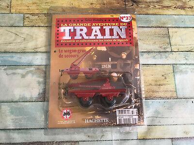 Wagon Grue de Secours N°37 Hornby Hachette O La Grande Aventure du Train