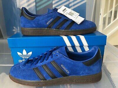 Adidas Munchen Spzl Blue Stretford brand new in box Size uk 10 Deadstock