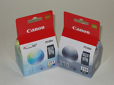 Canon Pg-210 Cl211 Ink Ip2700 Ip2702 Mp240 Mp250 Mp270 Mp...