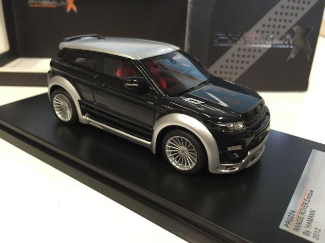 Range Rover Evoque Hamann 2012 1:43 IXO MODEL CAR LIMITED EDITION-PR0274