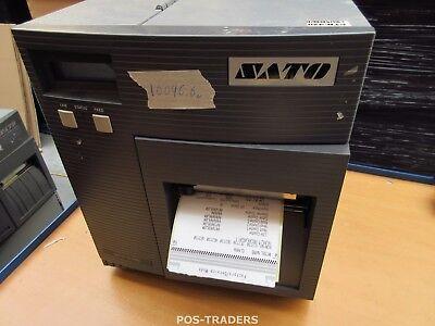 """SATO CL408E Parallel Thermo Label Drucker REWINDER 203dpi 4.1"""" 104mm - 10096.6 M"""