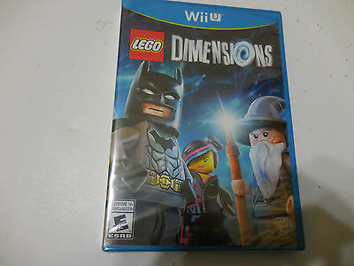 Lego Dimensions  Game Only  Nintendo Wii U  2015  Eo