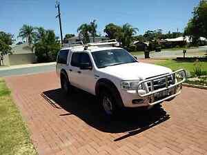 2008 FORD RANGER PJ XL CREW CAB Duncraig Joondalup Area Preview