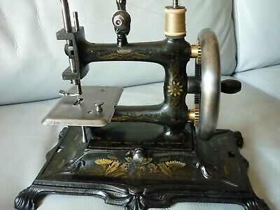 """Used,  machine a coudre 1880 dite """" jouet """" - sewing machine antique - for sale  Shipping to Nigeria"""