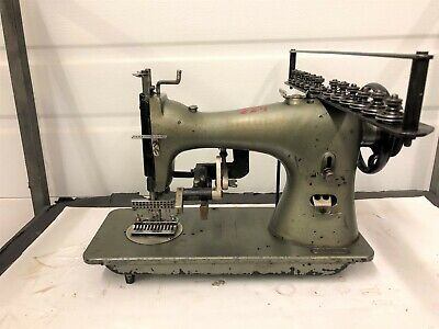 Singer 52 Class Up To 12 Needle 316 Spacing Ruffler Industrial Sewing Machine