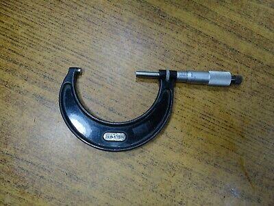Starrett 436 Outside Micrometer 2-3 Ratchet Stop