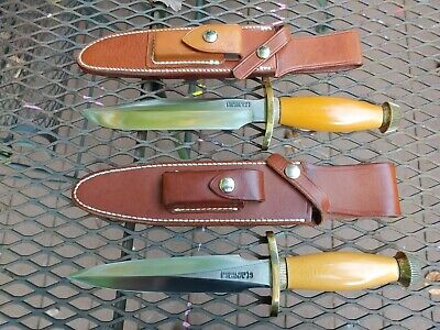 RANDALL MADE KNIFE MODEL 1 AND 2 ''OLD YELLER'' WESTINGHOUSE