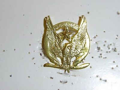 0117  WW 1 US French Lafayette Escadrille Badge France Aviation GD9