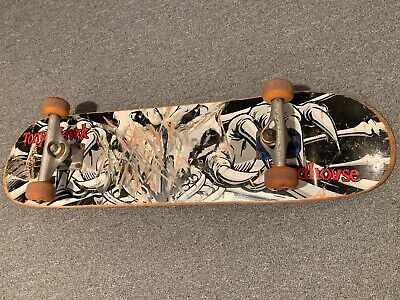 Tony Hawk Birdhouse Falcon 3 Complete Skateboard Deck Trucks Wheels vtg skate