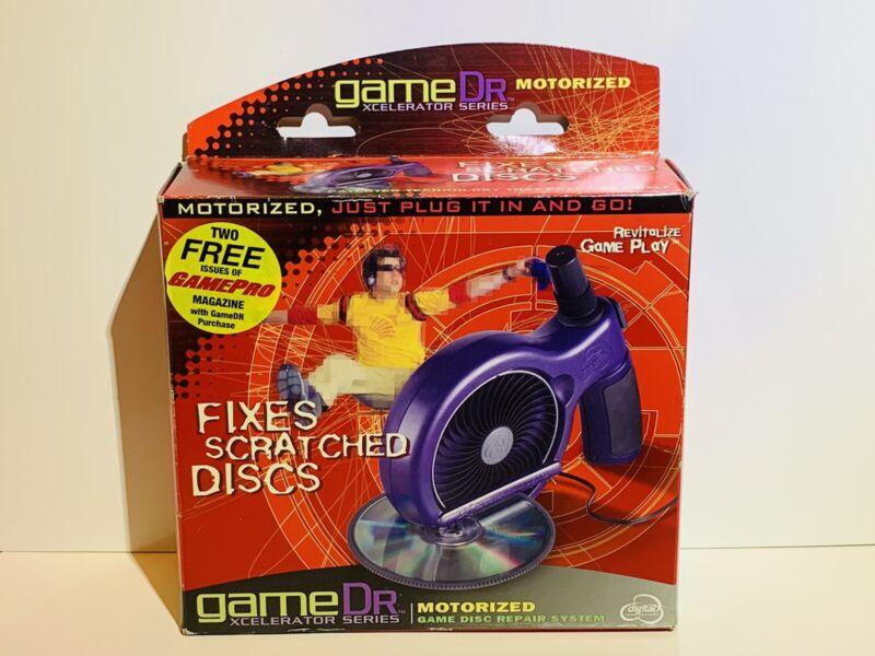 gameDr Game Dr Doctor Motorized CD DVD Disc Resurfacer Scratch Repair System Fix
