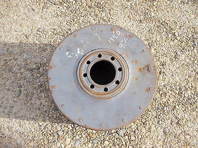 Farmall 400 450 560 460 W9 W6 M Sm Tractor Big Ih Paper Belt Pulley 13 12 X 9