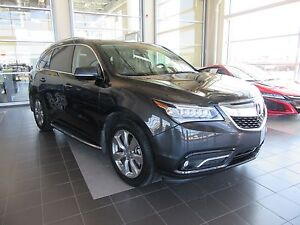 2016 Acura MDX Elite Package WARRANTY, LOW KMS, PST PAID
