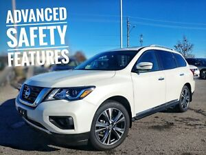 2018 Nissan Pathfinder Platinum Almost New Loaded  FREE Delivery