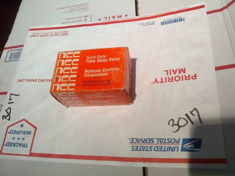 New NCC Ametek CKK-00060-462 6-60 Sec 24VDC Solid State Timer Time Delay Relay