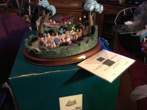 WDCC Alice in Wonderland Tea Party Figure 11K 412950 w/Original Box. LE 4,500