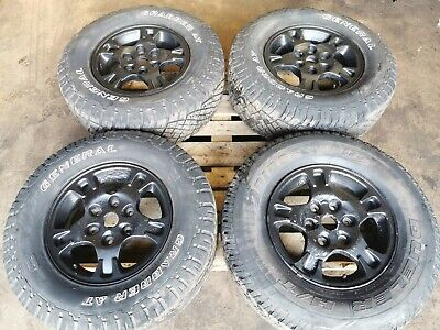 MITSUBISHI L200 MK4 SET OF 4 ALLOY WHEELS WITH TYRES 255/70/R16  6x139.7
