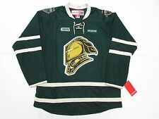 LONDON KNIGHTS OHL GREEN CCM PREMIER 7185 HOCKEY JERSEY