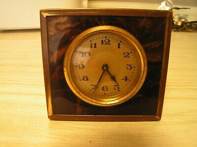 VINTAGE BEDSIDE MANUAL WIND WATCH