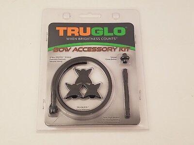 TRUGLO Bow Accessory Kit   TG601AW   Kisser Button / Silencers / Peep w/ Tubing