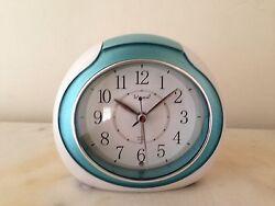 Green Telesonic Quartz Sweep Second Alarm Clock W/ Light