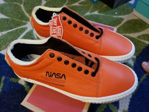 Vans Nasa Orange space voyager firecracker
