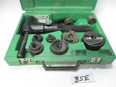 Greenlee 7906sb Hydraulic Punch Set 7906