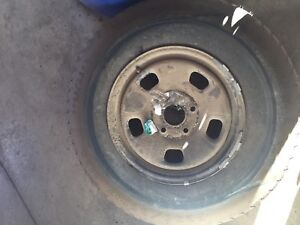Spare rim and tire for Dodge Ram 1500