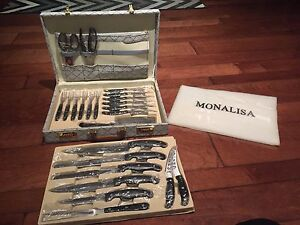 Brand New Mona Lisa 24-Piece Knife Set
