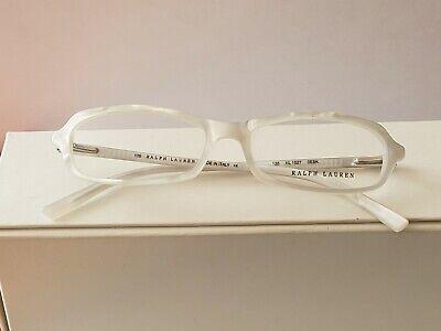 New Ralph  Lauren eyeglass RL1527 frames color pearl white size 53