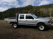 1999 Ford Courier Dual Cab 4x4 low kms! Mount Sylvia Lockyer Valley Preview