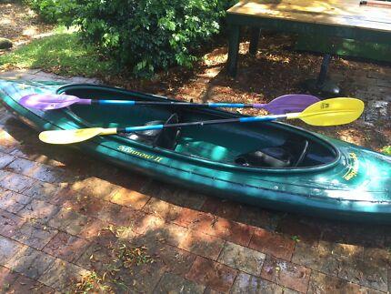 Kayak/Canoe Hybrid - 'Perception Minnow 2'