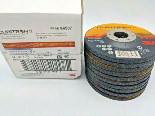 "(10PACK) 3M Cubitron II 4-1/2"" X 1/4"" X 7/8"" Grinding Wheel #27 - 66587"